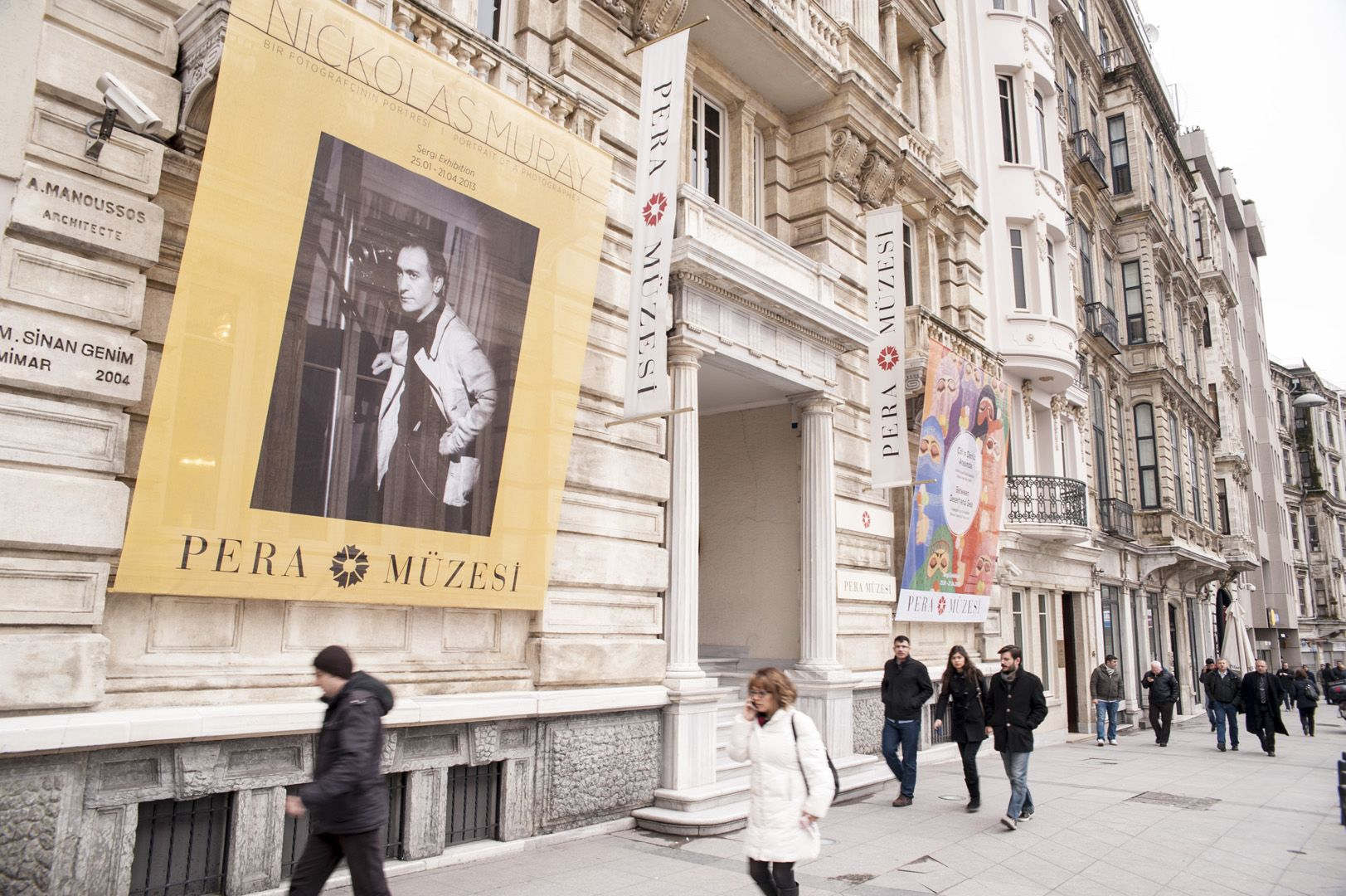 Pera Museum, housed in the former Bristol Hotel, is among the sightseeing options at Istiklal Avenue