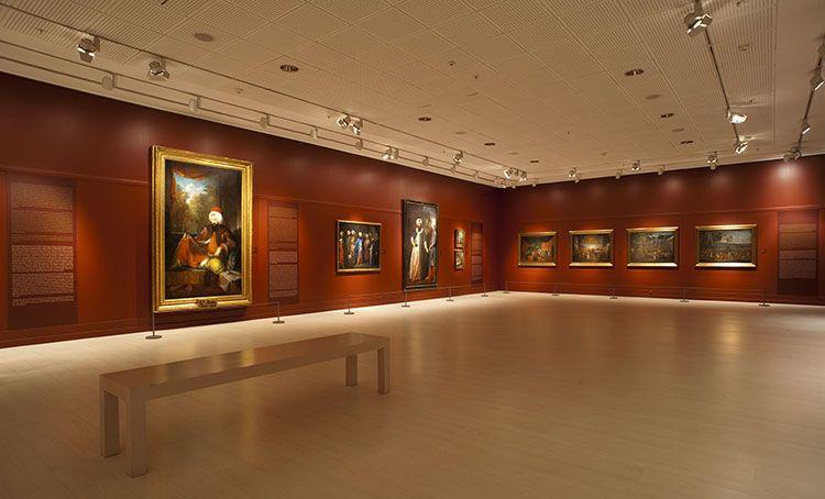 Orientalist paintings exhibition at Pera Museum