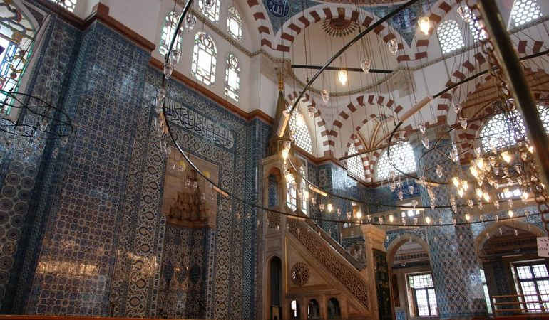 Rüstem Paşa Mosque - Istanbul Tour Studio – Istanbul Guide