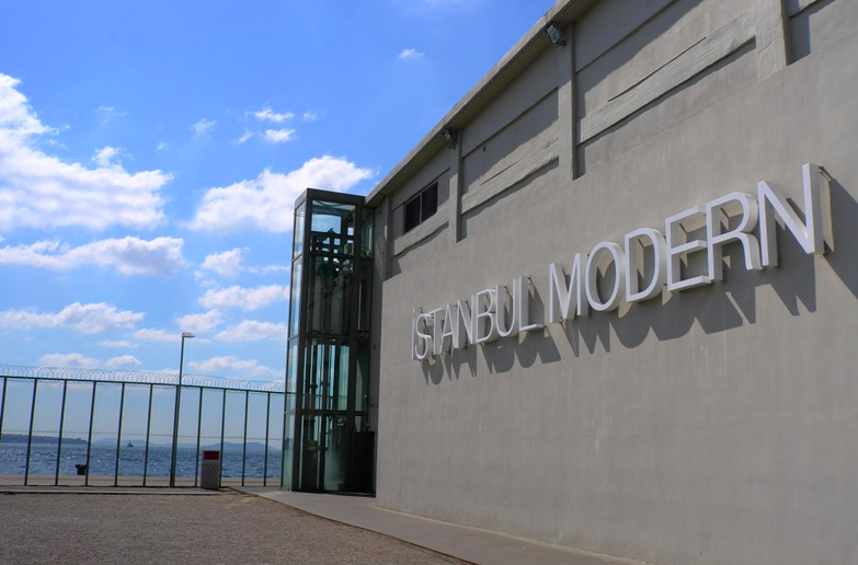 Istanbul Modern Museum is only five minutes walk from Kilic Ali Pasa Mosque