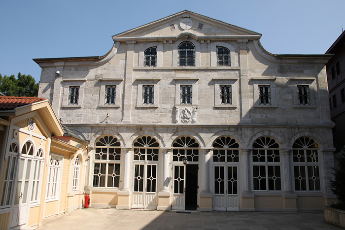 Entrance of Fener Greek Orthodox Patriarchate of Istanbul (Constantinople)