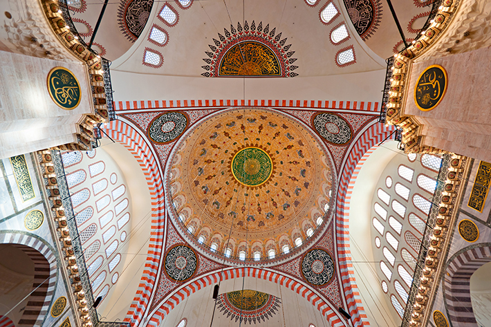 Main dome of Suleymaniye Mosque